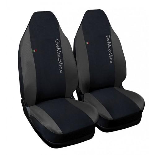 Coprisedili GianMarco Venturi compatibili per Smart 1a serie w450 - grigio scuro